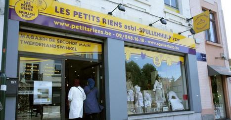 Les premiers contrats d'insertion de la Région bruxelloise signés aux Petits riens | Politici in Brussel | Scoop.it