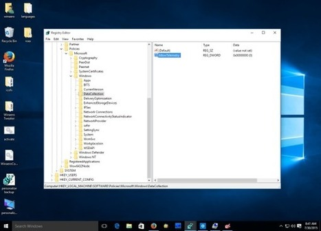 How to disable Telemetry and Data Collection in Windows 10 | Vloasis sci-tech | Scoop.it