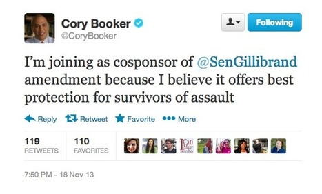 Cory Booker & Dean Heller join the fight against sexual assault in the US military | Dare To Be A Feminist | Scoop.it