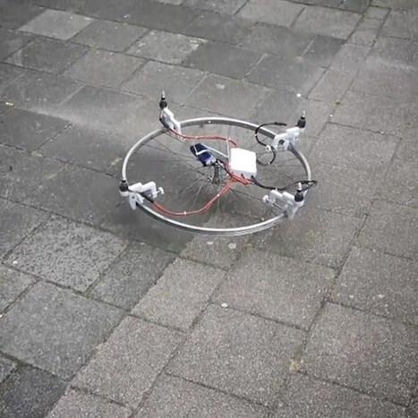 Flying cakes? 3D-printed DIY kit lets you turn anything into a drone (Wired UK) | De mogelijkheden van onze daken | Scoop.it
