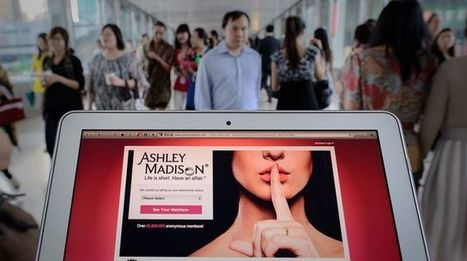 Ashley Madison: utiliser son mail pro sur un site de rencontres, la mauvaise idée | SandyPims | Scoop.it