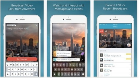 Twitter's live streaming video app Periscope updated as it crushes Meerkat | Apps for Tap-Swipe-Pinch | Scoop.it