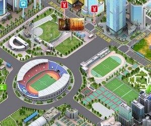 O.cn: pixel perfect view of China's biggest cities   Web 3D   Scoop.it
