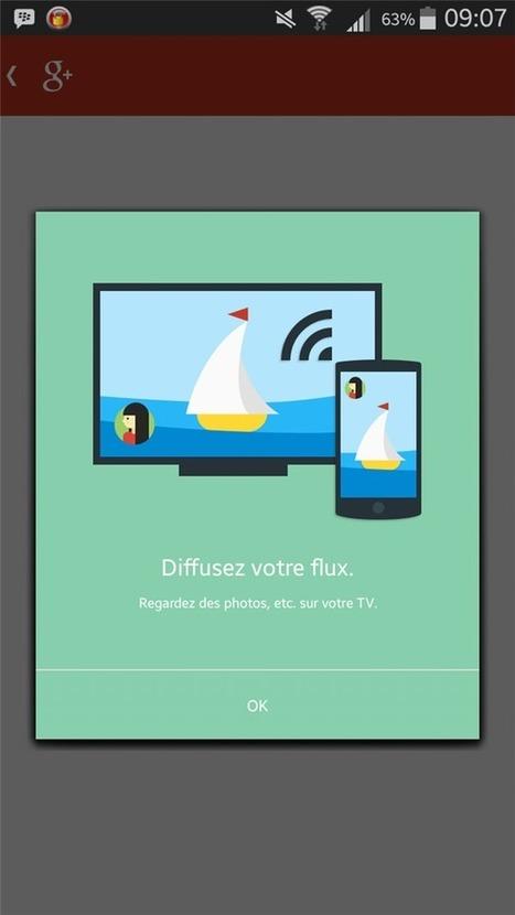 Google+ est désormais capable d'exploiter Chromecast sous Android - Next INpact | Google&Vous | Scoop.it