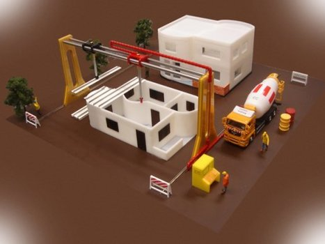 Giant 3-D Printer to Make An Entire House in 20 Hours | Science is Cool! | Scoop.it