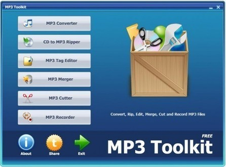 MP3 Toolkit, la trousse à outils des fichiers MP3 | Time to Learn | Scoop.it
