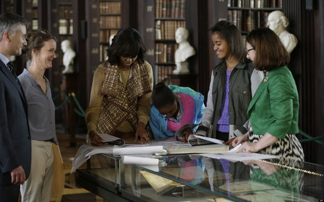 Michelle Obama and daughters Ireland Trip | Diverse Eireann- Sports culture and travel | Scoop.it