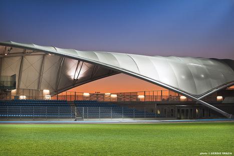 Une membrane architecturale pour le nouveau stade de Toulon   Dans l'actu   Doc' ESTP   Scoop.it