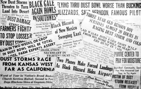 Newspaper Clippings (Primary document #2) | Depression In the Great Plains | Scoop.it