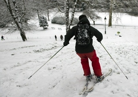 Une station de Ski dans Paris | montagne | Scoop.it