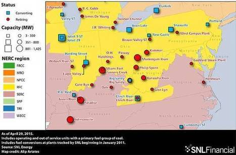 12,300 megawatts of coal power will shut down in the US in 2015, lots more to come | Energy&Environment | Scoop.it