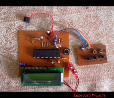 LCD based digital alarm clock using 89S51 MC*Circuits Mania | Embedded projects | Scoop.it