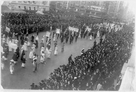 On this day in 1915 women marched for the right to vote | Coffee Party Feminists | Scoop.it