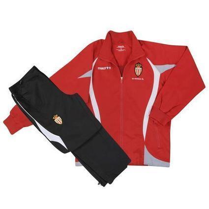 2012-13 Monaco Macron Tracksuit (Red) | Monaco football club Dresses | Scoop.it