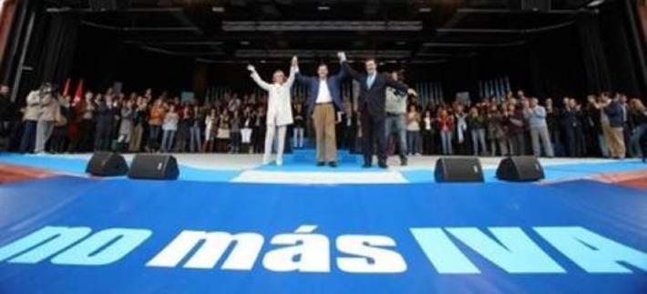 Rajoy sube el IVA a pesar de hacer campaña contra la subida del ... - 20minutos.es | Partido Popular, una visión crítica | Scoop.it