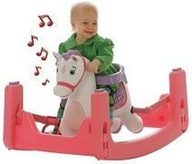 Rockin' Rider Starlight Grow-with-Me Pony - Animated Plush Rocker and Spring Horse | Ride-On Toys | Best Ride On Toys For Toddlers 2014 | Scoop.it