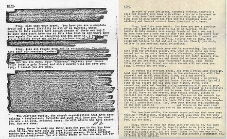 "FBI's ""Suicide Letter"" to Dr. Martin Luther King, Jr., and the Dangers of Unchecked Surveillance 