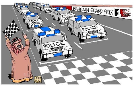 Bahrain:  More Police than racers at THIS F1 race! | Human Rights and the Will to be free | Scoop.it