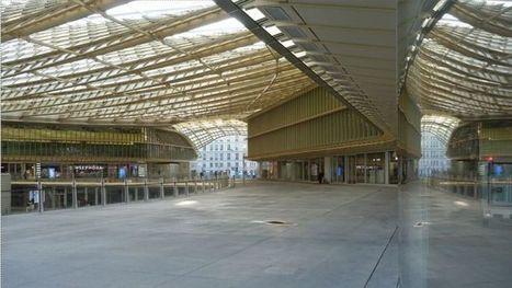 Les secrets architecturaux de la canopée des Halles   Quartier des Halles - et un peu plus autour de la Canopée...   Scoop.it