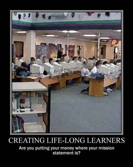What does a good library tell you about aschool? | Bring Your Own Device BYOD BYOT | Scoop.it
