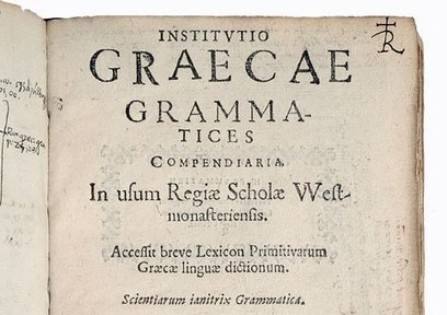 Ancient Greek Grammars Online | culture | Scoop.it