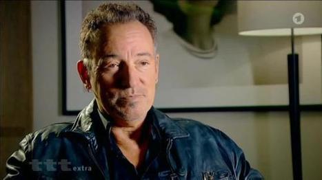 Bruce Springsteen auf der Buchmesse - Das Erste | Bruce Springsteen | Scoop.it