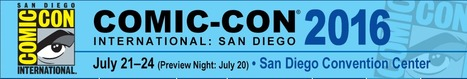 20016 San Diego International Comic-Con: July 21st - 24th in San Diego, CA | Space Conference News | Scoop.it