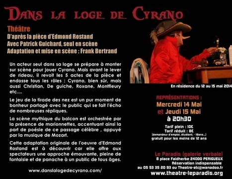 Dans la loge de Cyrano | CRDVA 24 | Scoop.it