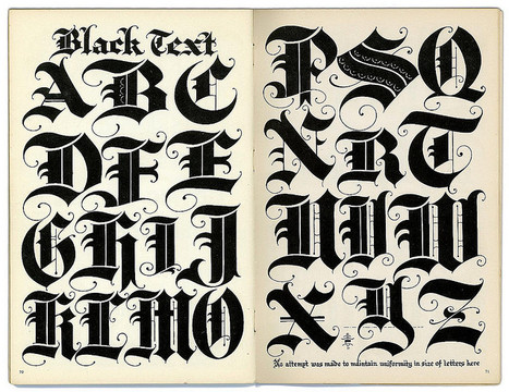 Black Text | Calligraphy | Scoop.it
