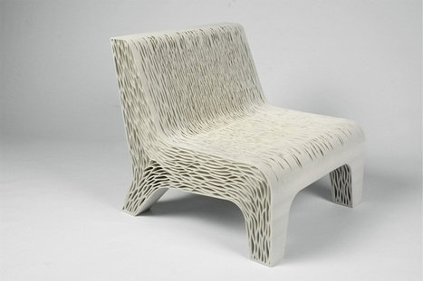 biomimicry: 3D-printed soft seat by lilian van daal - designboom | architecture & design magazine | laurent | Scoop.it