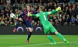Barça 1-0 ManCity: Barcelona's Ivan Rakitic lobs Manchester City out of Champions League - The Guardian | AC Affairs | Scoop.it