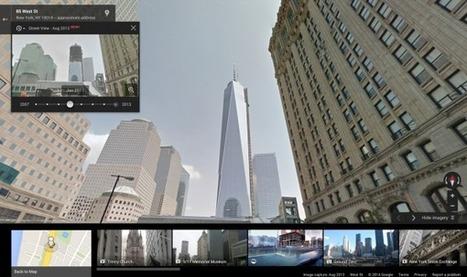 Remontez le temps avec Google Street View   Patrimoine et numérique   Scoop.it