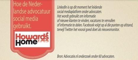 Infographic: Nederlandse advocaten actief op social media | Nederlandse Advocaten op Social Media 'infographic' | Scoop.it