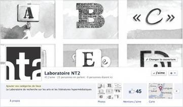 Nouvelle tête du Laboratoire NT2 (arts et les littératures hypermédiatiques) sur les réseaux sociaux!   Digital #MediaArt(s) Numérique(s)   Scoop.it
