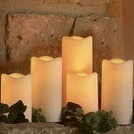 5pc. Outdoor LED Pillar Candle Set | Real Estate Trends, Info & Tips | Scoop.it