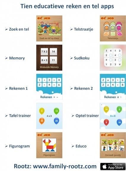 Tien educatieve reken en tel apps voor kinderen tot twaalf jaar  Rootz   Digitale geletterdheid en mediawijsheid   Scoop.it