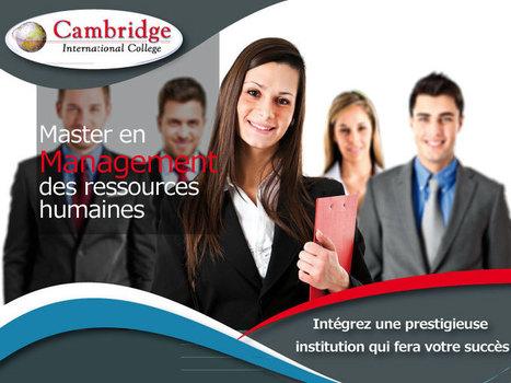 Mastery en management des ressources humaines | CasaAnnonce.ma | Scoop.it