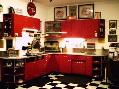 Vintage Kitchen Cabinets with Interesting Historic   Home Decorating Ideas   Scoop.it