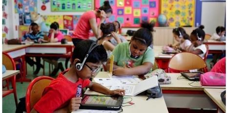 Cette école qui passe des gommettes aux tablettes | Nouvelles tech & éducation | Scoop.it