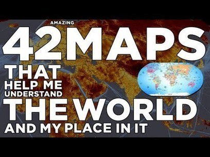 Digg Videos: 42 amazing maps that help you understand the...   Geography   Scoop.it