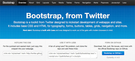 5 Incredibly Useful Tools Built Into Twitter Bootstrap | Design Shack | Coding (HTML5, CSS3, Javascript, jQuery ...) | Scoop.it