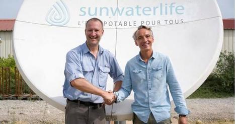 SUNWATERLIFE accompagne l'aventure namibienne de Stéphane Lévin | Pépinières d'entreprises de Toulouse Métropole | Scoop.it