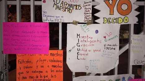 Padres de familia bloquean entrada de escuela en Villa Izcalli | Secretaria de Educación Colima | Scoop.it