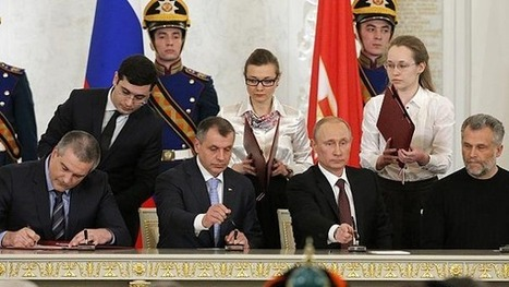 Putin signs Crimea treaty, will not seize other Ukraine regions | Sustain Our Earth | Scoop.it