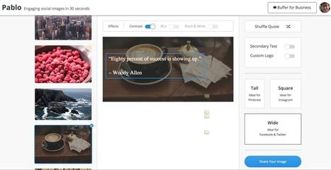 Pablo. Créer des images optimisées pour les réseaux sociaux | SEO et le marketing des Réseaux Sociaux | Scoop.it