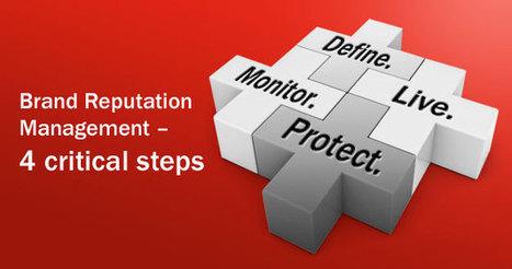 Brand Reputation Management: 4 Simple Steps | Branding Business with RiechesBaird | Brands, brand management, brand architecture | Scoop.it