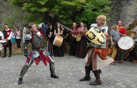 Mittelalterliches Treiben in Vianden | Festivals Celtiques et fêtes médiévales | Scoop.it