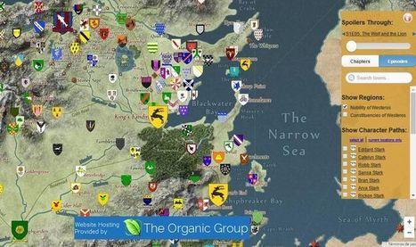 Quartermaester: mapa interactivo para saber todo de Juego de Tronos | #TRIC para los de LETRAS | Scoop.it