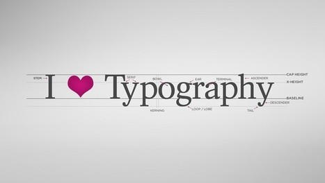 A Brief Introduction to Typography – Infographic | Typography | Scoop.it