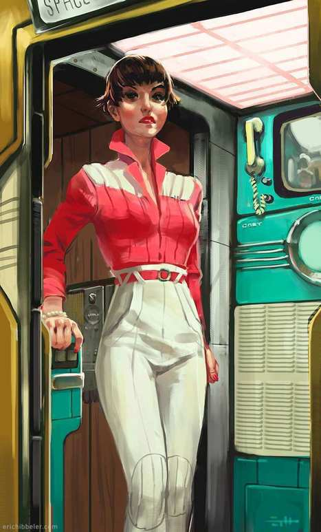 Stunning Character Paintings by Eric Hibbeler | Graphisme - Illustration | Scoop.it
